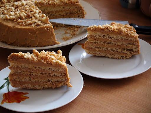 торт клеопатра рецепт