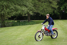 Mac on trials bike