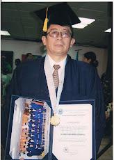 Gracias mi Señor Cautivo por estos momentos de felicidad al concluir mis estudios doctorales