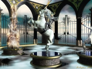 Chess wallpapers: chess piece knight statue