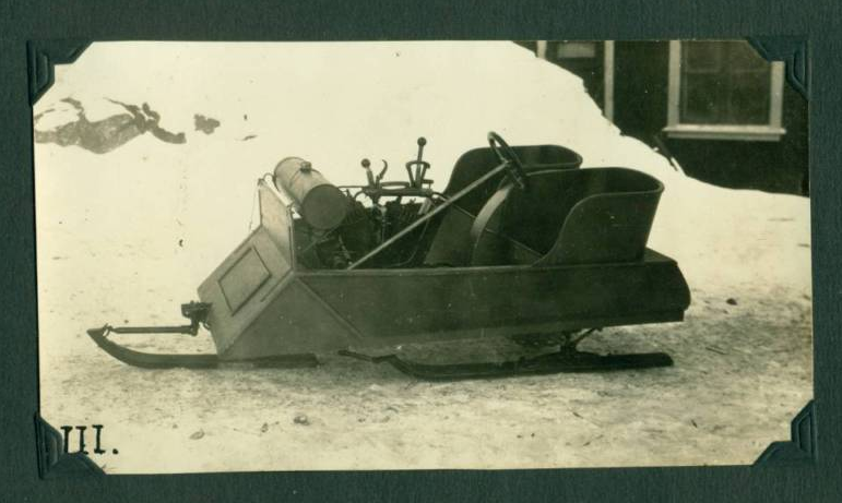 Anonymous Works: 1920's Archive of a Snowmobile Inventor