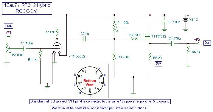 6 band equalizer schematic crossover schematic