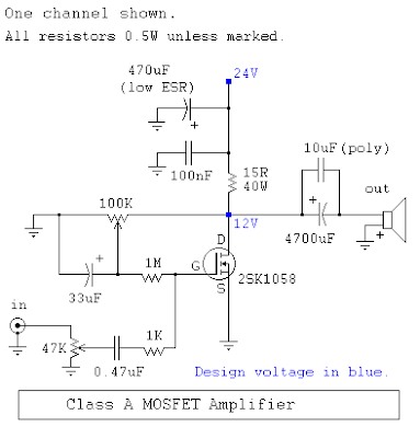 Power Amplifiers Class A