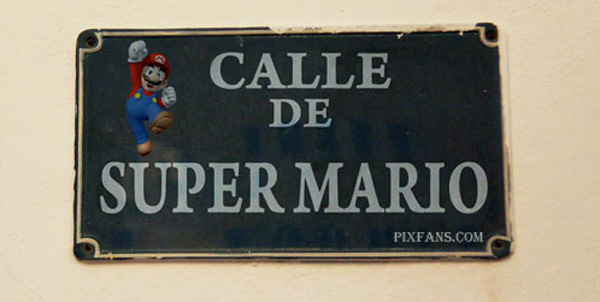 Calle de Super Mario Bros