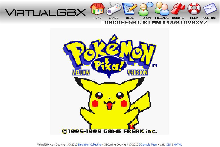 Emulador de GameBoy Color Online