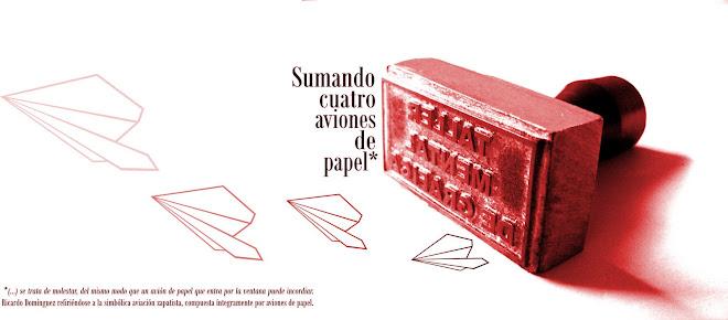 sumando cuatro aviones de papel