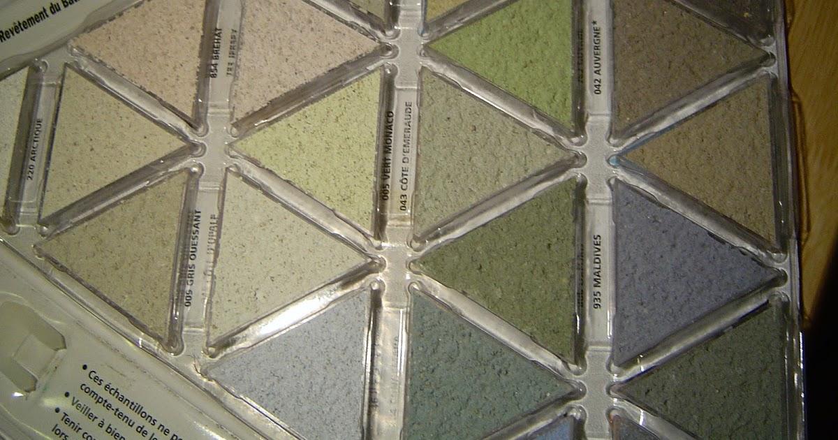 Construction en guadeloupe le triangle des bermudes for Nuancier enduit exterieur