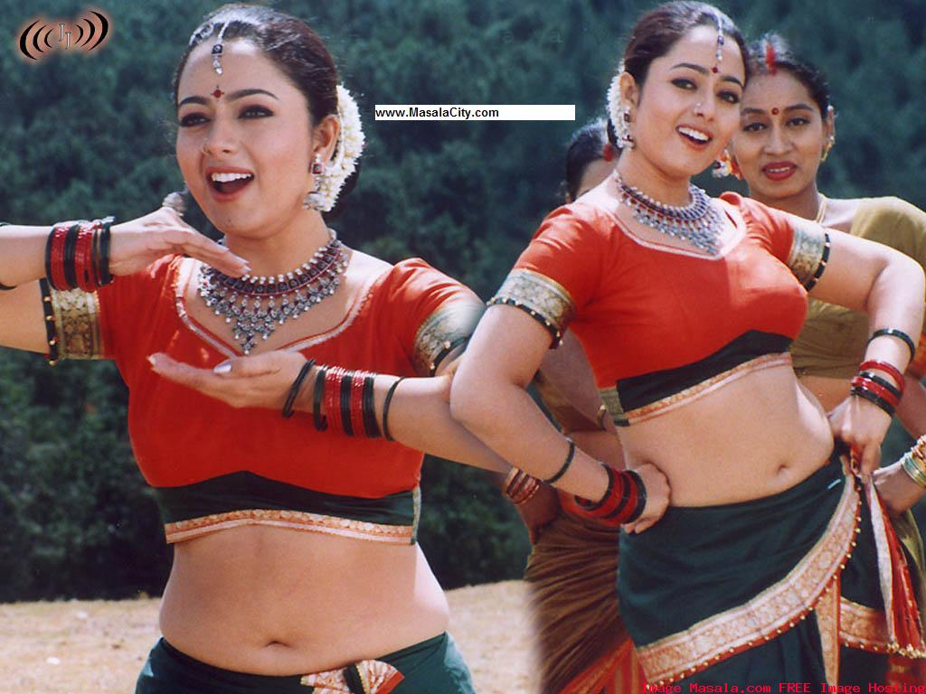 VIDEO FACTORY: Soundarya Sexy Navel Song From Kondaveti Simhasanam