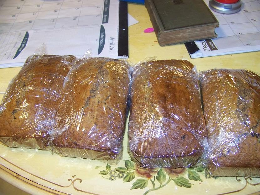 Modern Day Ozzie and Harriet: Applesauce Raisin Bread