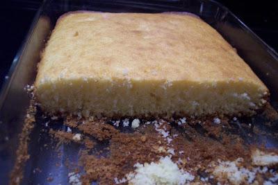 Recipe cottage pudding cake