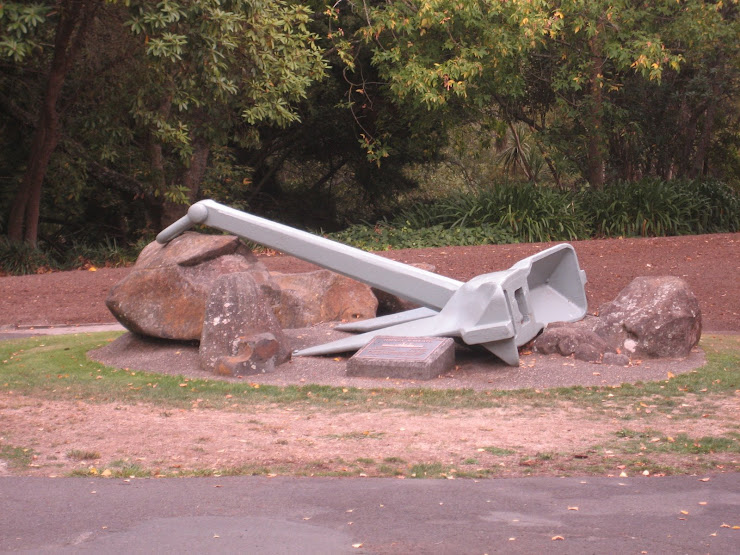 the silver anchor located in memorial park
