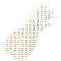 Abacaxi em ASCII Art