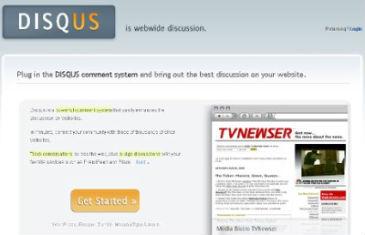 Screenshot do Disqus