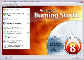 Ashampoo Burning Studio 8.01 Portable