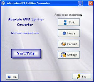 Absolute MP3 Splitter & Converter 2.7.4 Portable