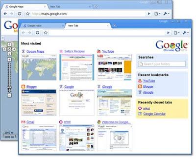 Portable Google Chrome 0.4.154.18 MultiLang
