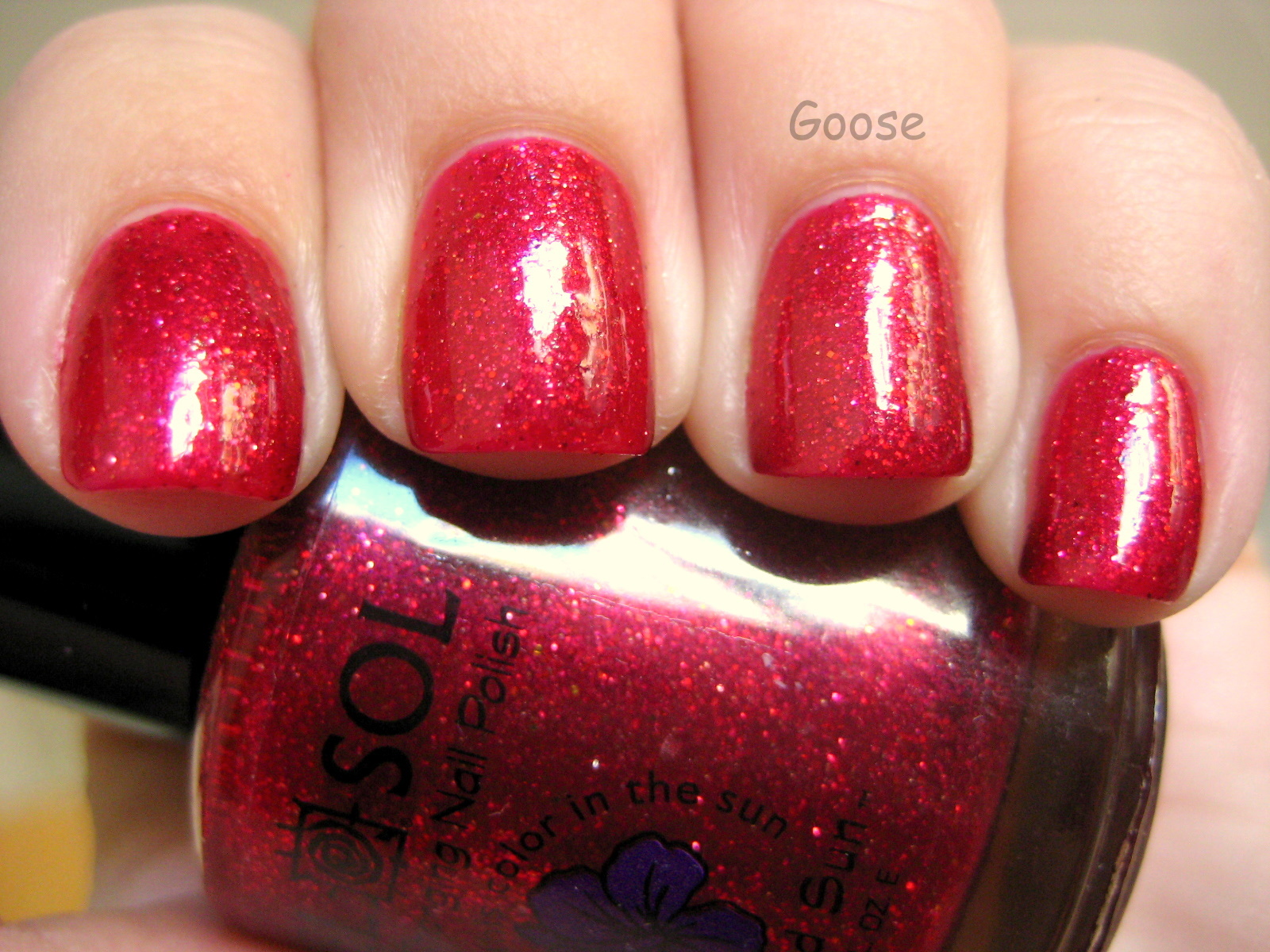 Goose\'s Glitter: Some fun Valentine\'s Day colors from Del Sol