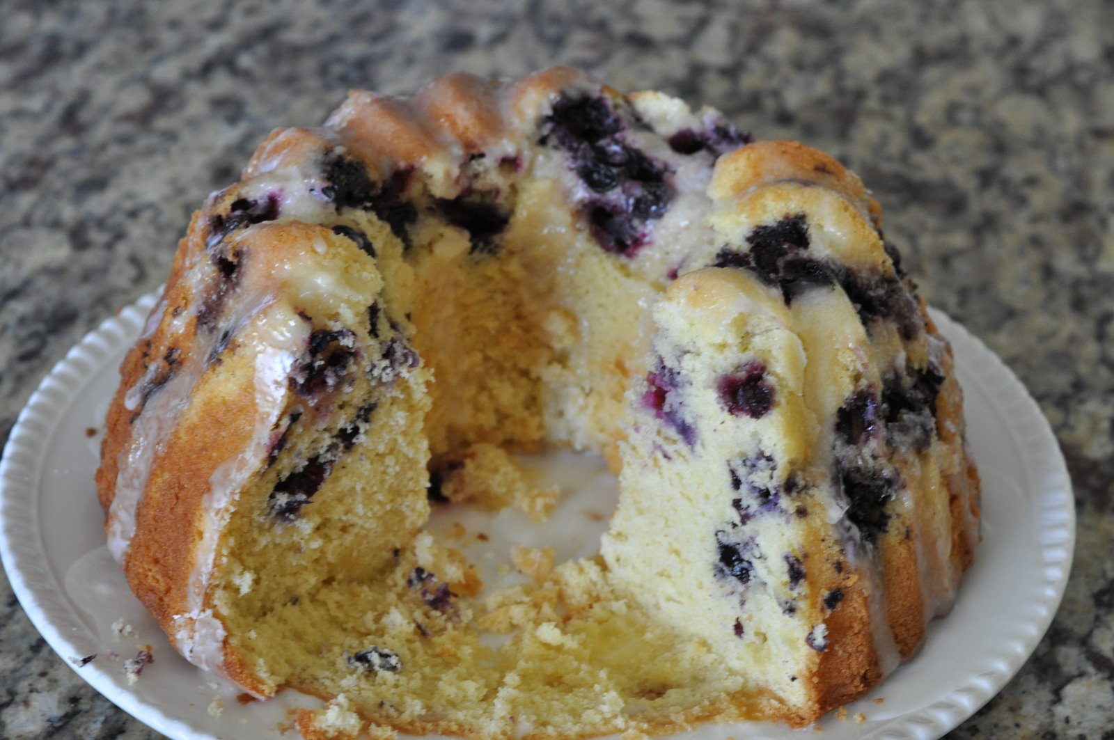 Sunday Share: Best Lemon Blueberry Bundt Cake