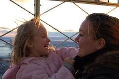 Gina & Moi på toppen av Empire State Building 2006