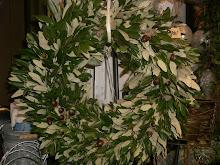 Krans av steneksblad