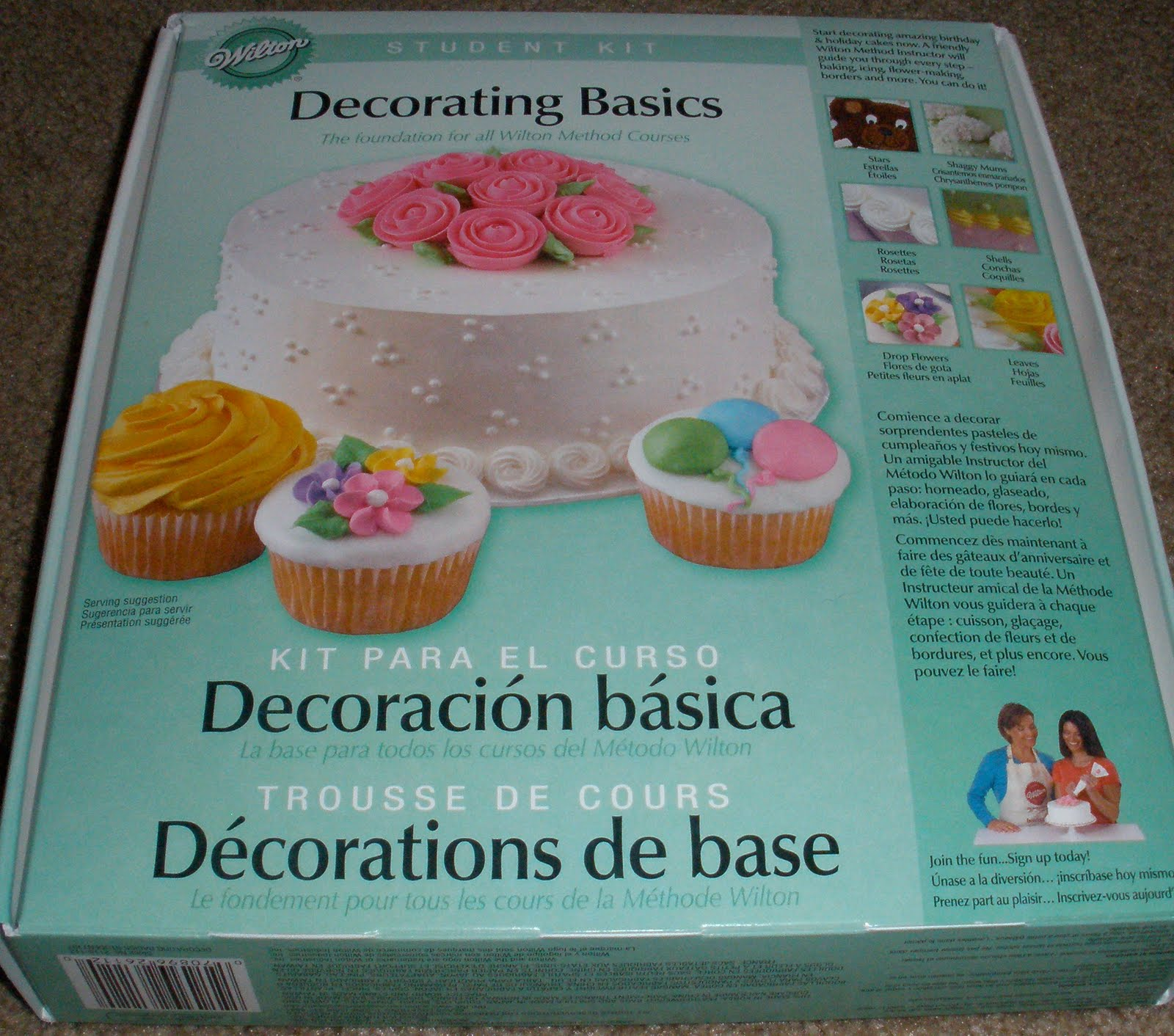 Wilton Cake Decorating Kit Coupon : Cake Class Adventures