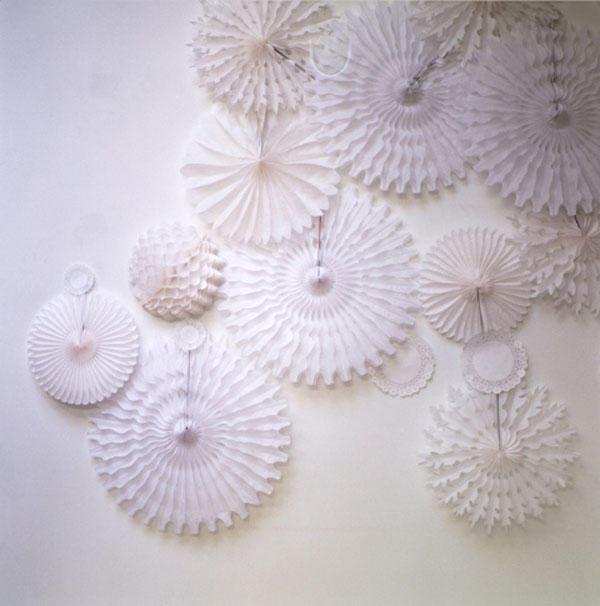 crepe paper balls