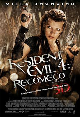 Filme Resident Evil 4 - Recomeço TS XviD Dual Audio e RMVB Dublado
