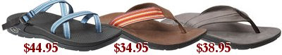 Click to view Chaco sale sandals!