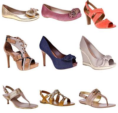 calçados arezzo verão 2011