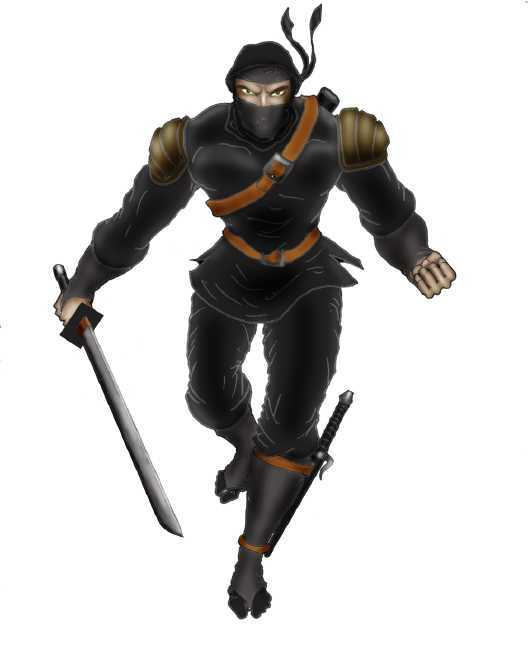 Ancient Japanese Ninja