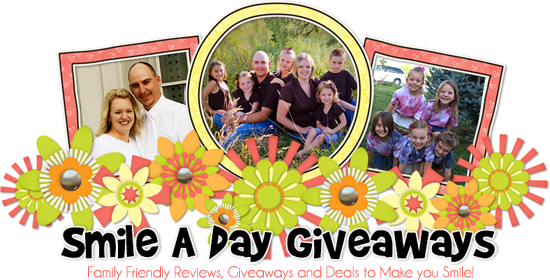 Smile a Day Giveaways Blog Design