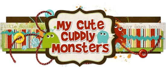 My Cute Cuddly Monsters Blog Design
