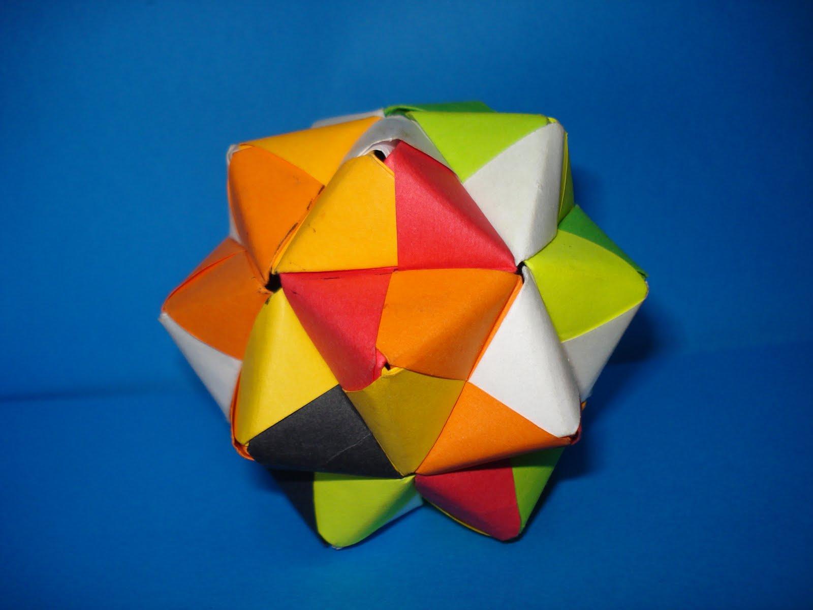 Origamijwm septiembre 2010 - Origami de una estrella ...