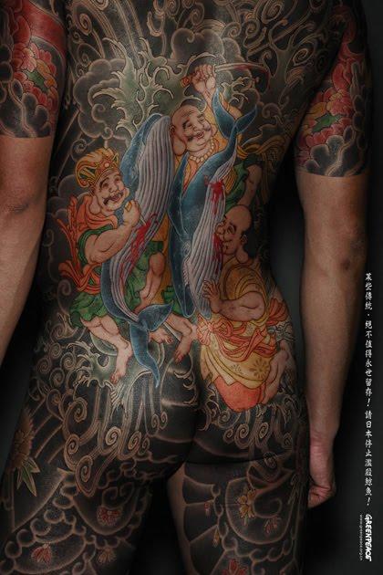 japanese yakuza tattoo. Yakuza Japanese Tattoo in Full