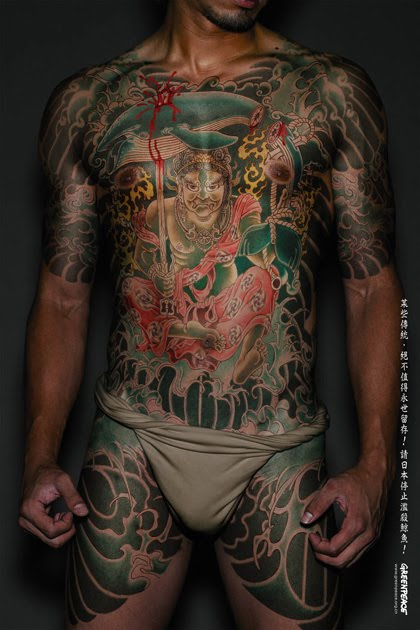 Yakuza Japanese Tattoo in Full Body