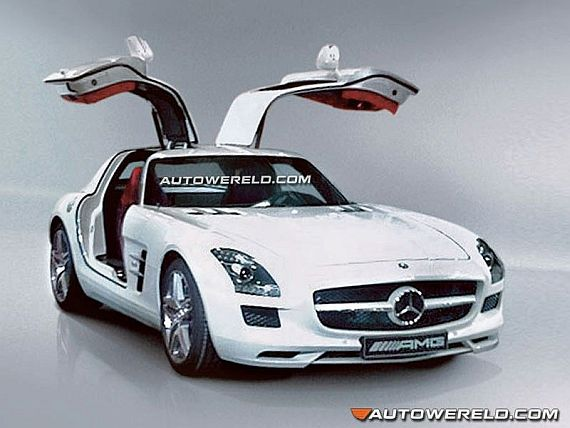 Mercedes SLS AMG Top Pictures