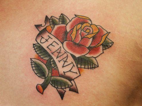 pink rose tattoo. pink rose tattoo. tattoo designs