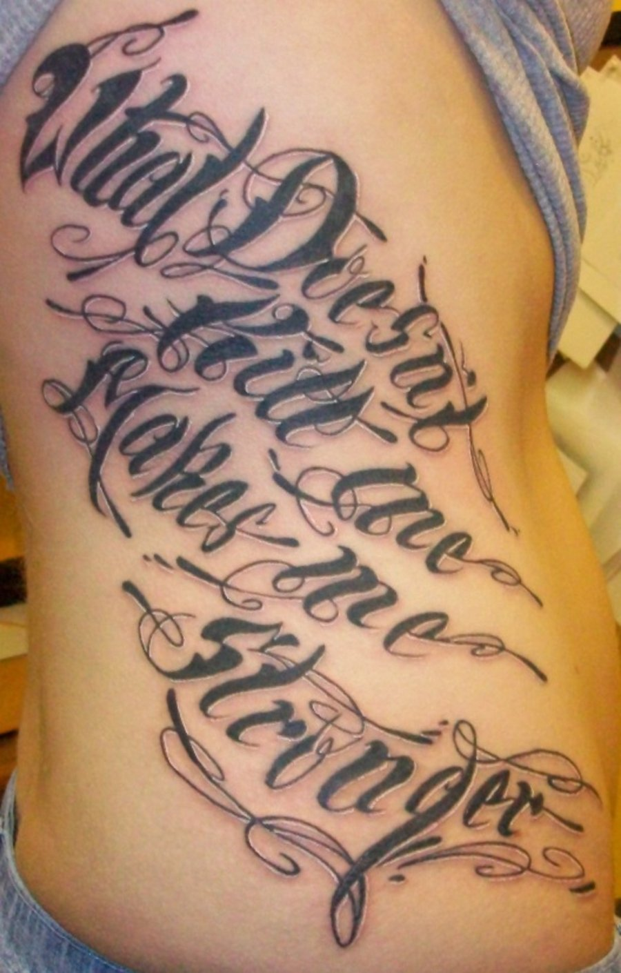 Lettering tattoos my tattoos zone lettering tattoos altavistaventures Gallery