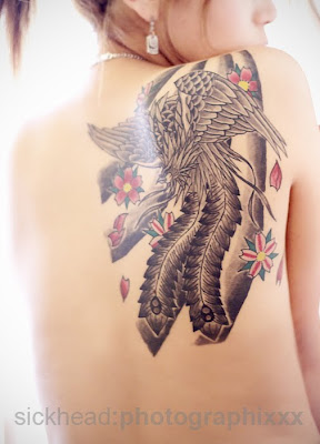 Phoenix Japanese Tattoo
