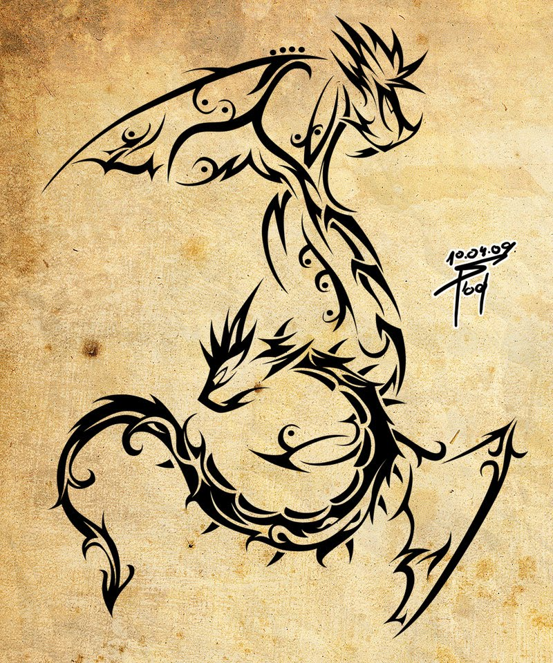the best tattoo dragon tattoo design from tattoo software. Black Bedroom Furniture Sets. Home Design Ideas