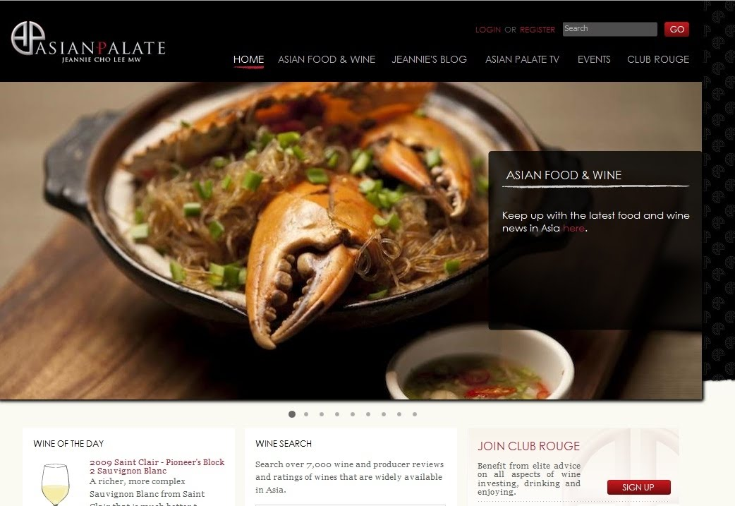 Asian palate savouring asian cuisine and wine by jeannie cho lee which includes wine reviews over 7000 wine and food trends jeannies blog events and ratings as well as a wealth of information on asian cuisine forumfinder Images