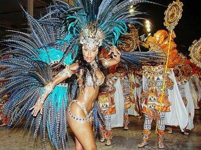 Brazil Carnival 2009. Brazil#39;s carnival dates back