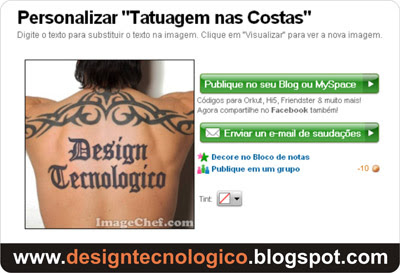 tatuagem digital costas