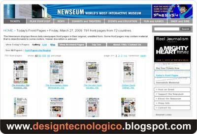 Primeiras páginas  jornais mundo