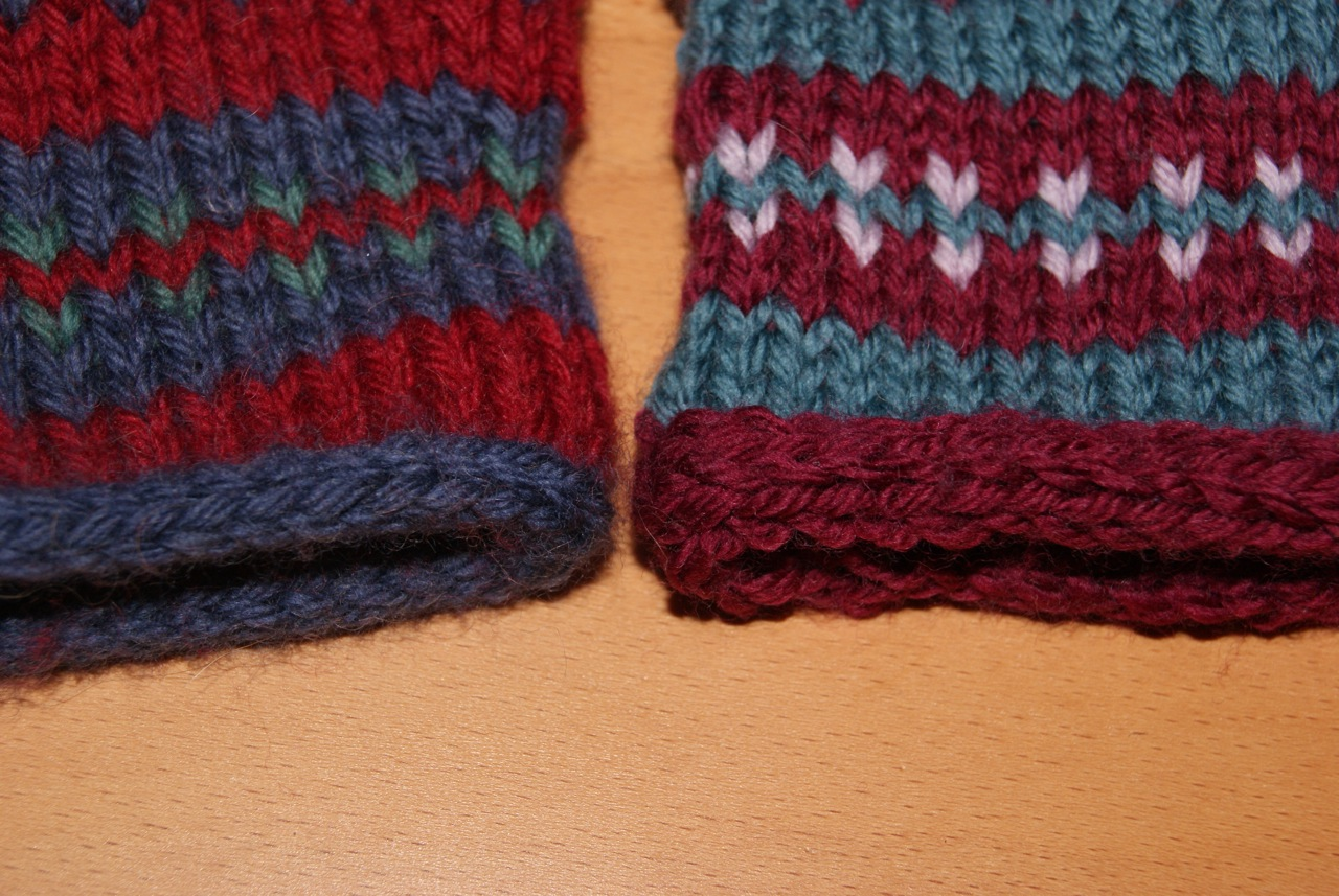 Monter des mailles en i cord tricot technique - Monter mailles tricot debutant ...
