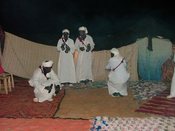 Noite no Erg Chebbi