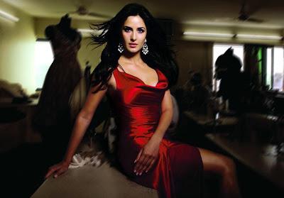 Katrina in Red silk