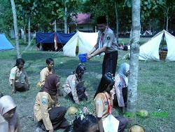 Upacara adat Saka Wanabakti Jombang