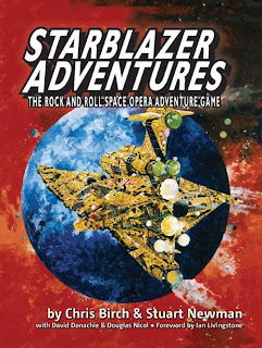 Portada de Starblazer adventures