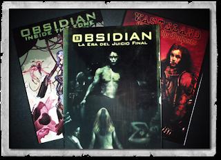 Portadas de los libros de Obsidian